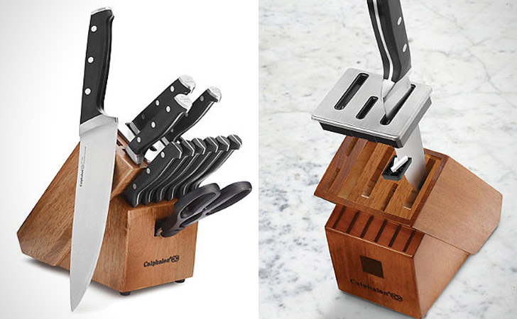 The Self-Sharpening Knife Block & Set