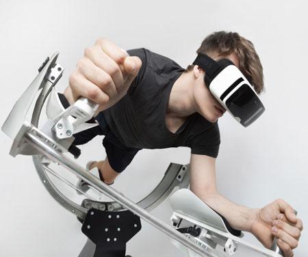 Virtual Reality Flight Simulator Trainer