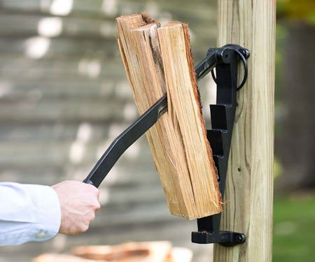 Wall Mounted Log Splitter