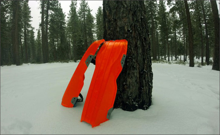 Wearable Snow Sled Attachments