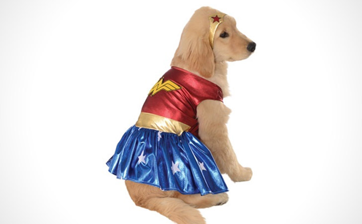 Wonder Woman Deluxe Dog Costume