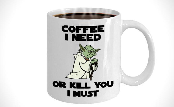 Yoda Coffee I need Mug