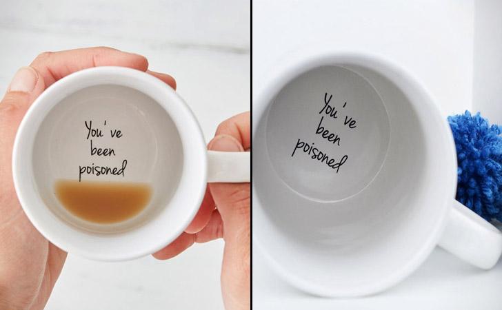 You've Been Poisoned Prank Coffee Mug