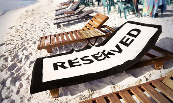 Reserved Beach Towel - Awesome Stuff 365