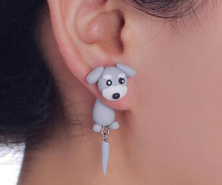 Adorable Puppy Dog Earrings