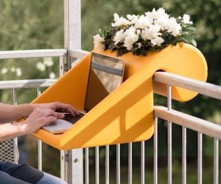 Attachable Balcony Desk