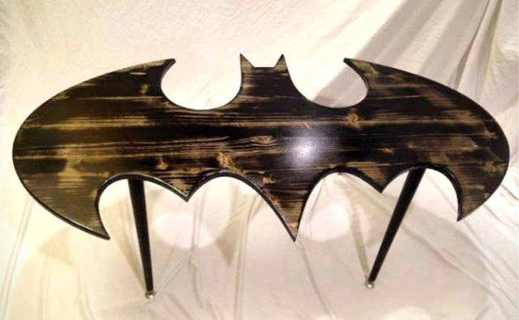 Batman Coffee Table - 55+ Incredibly Unique Coffee Tables - Awesome Stuff 365