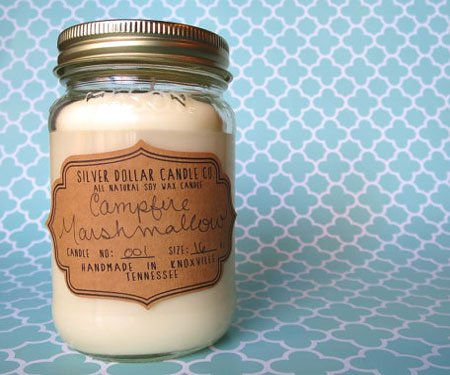 Campfire Marshmallow Scented Candle