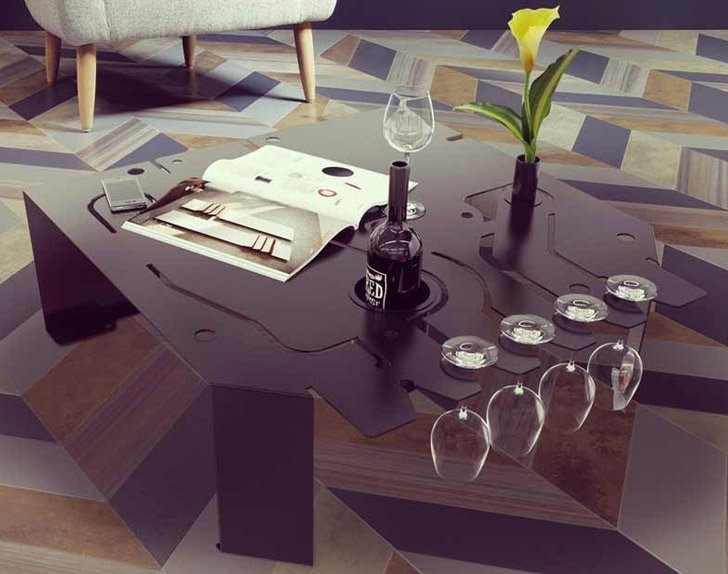 70 incredibly unique coffee tables you can buy awesome - Table circuit ...