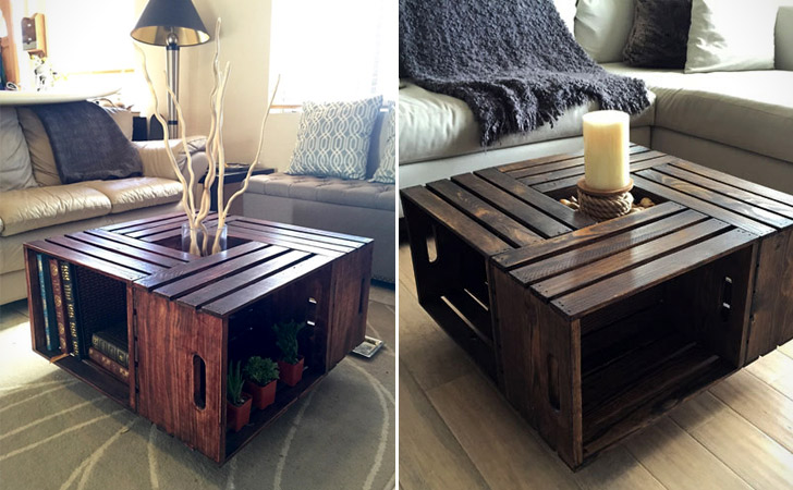 Crates Coffee Table