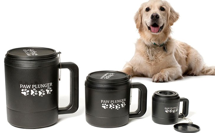 Dog Paw Cleaner Mug