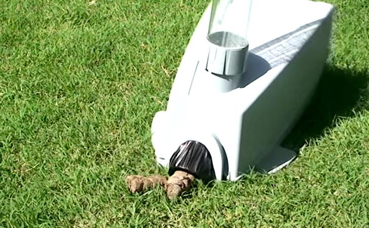 Dog Waste Vacuum Scooper