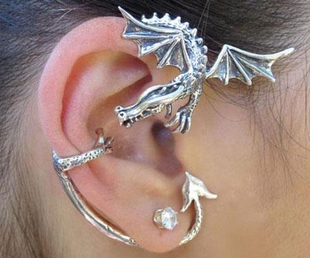 Dragon Wrap Ear Cuff