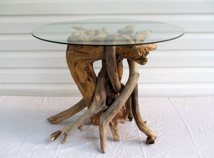 Driftwood Coffee Table Base