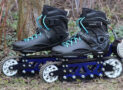 Electric Off-Road Rollerblades