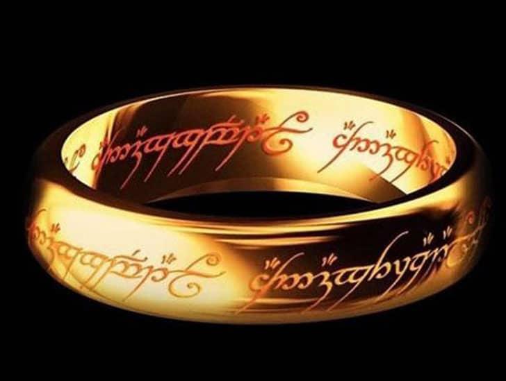 Hobbit Ring - Cool Rings for Men