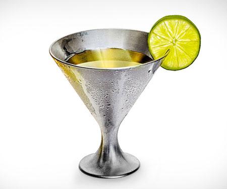 Indestructible Martini Glass