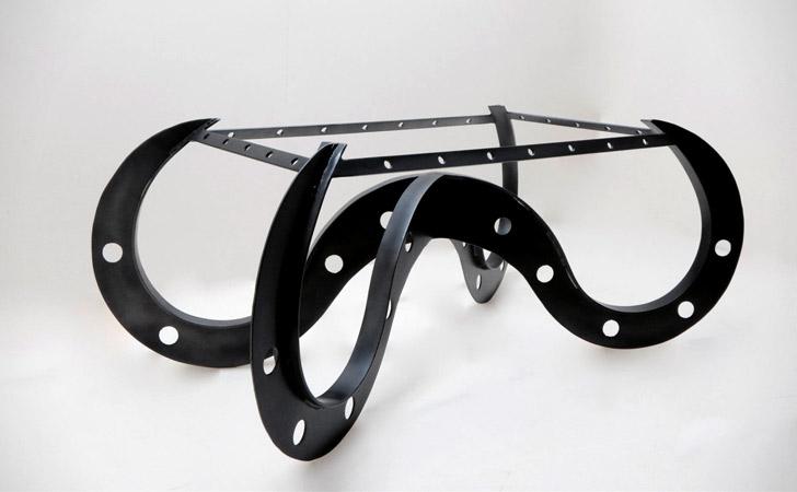 Lockheed Metal Coffee Table