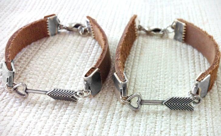 Matching Love Arrow Couples Bracelet Set - Matching Bracelets For Couples