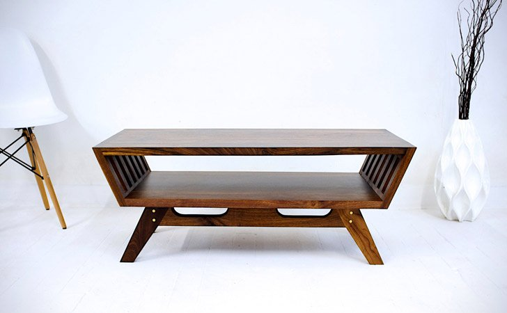 Midcentury Angular Table