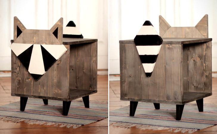 Raccoon Coffee Table