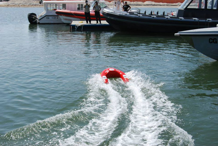 Remote Controlled Lifesaver Float