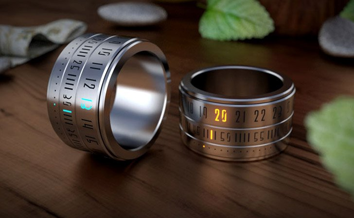 Ring Clock - creative gifts for boyfriends
