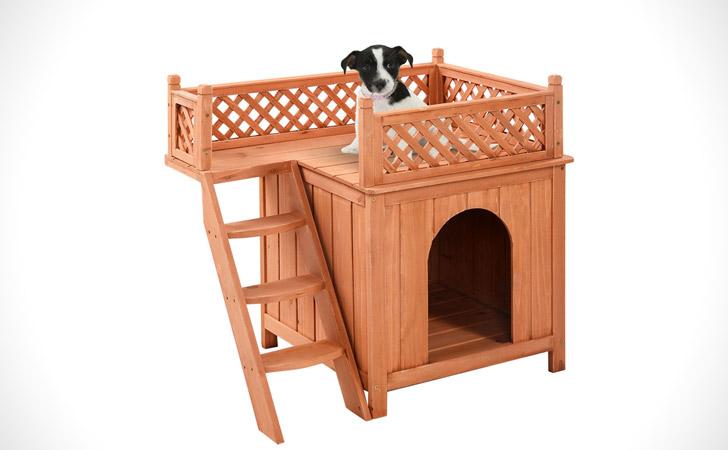 Roof Balcony Dog House