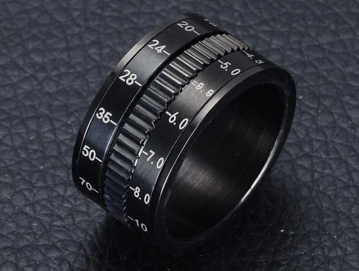 Rotating Camera Spinner Rings