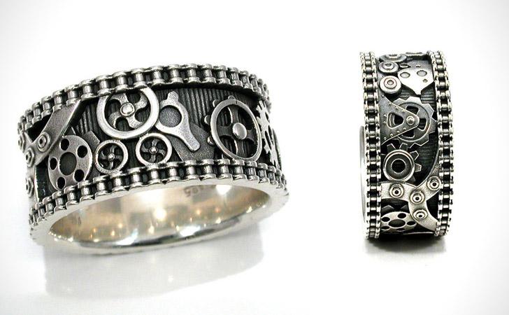 The Bike Chain Gear Ring