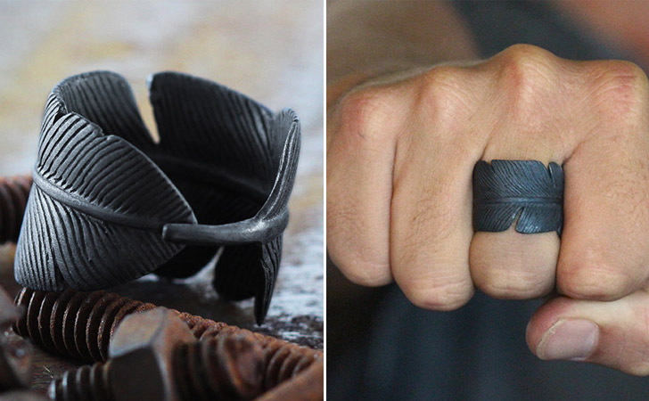 The Black Feather Ring