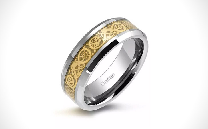 The Celtic Dragon Ring