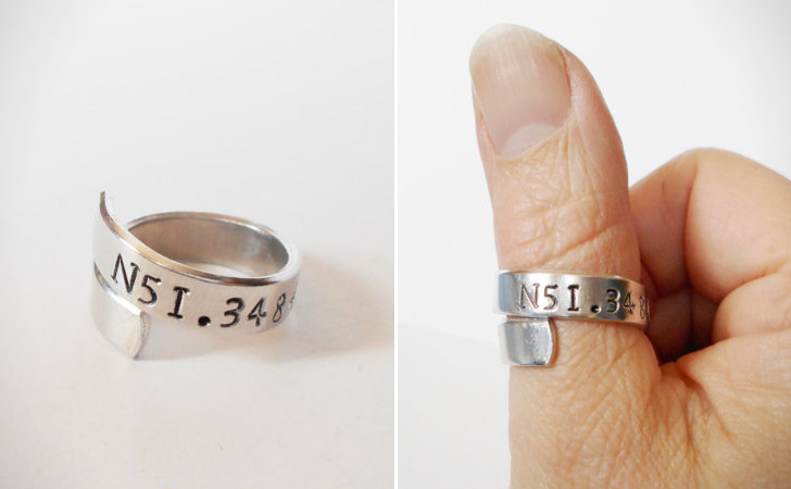 The Coordinates Wrap Ring