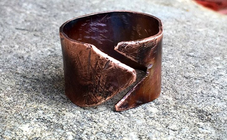 The Copper Rustic Ring