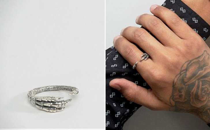 The Crow Claw Ring
