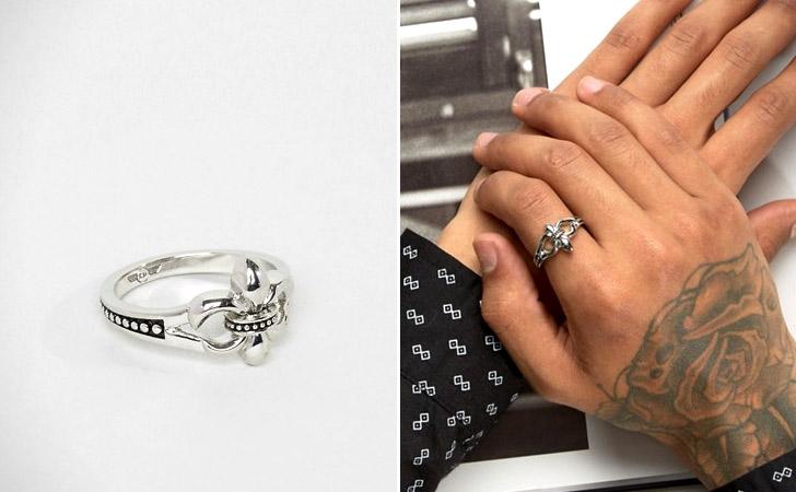 The Fleur De Lis Ring - Cool Rings For Men