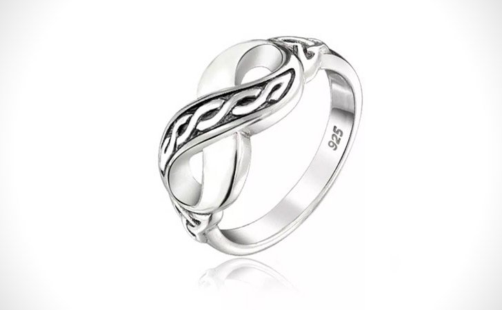 The Infinity Ring - Cool Rings for Men