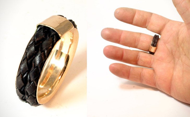 The Leather Band Ring