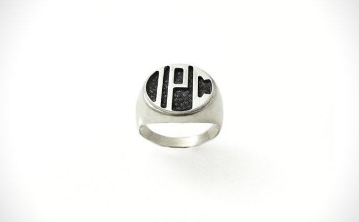 The Minimalist Monogram Ring