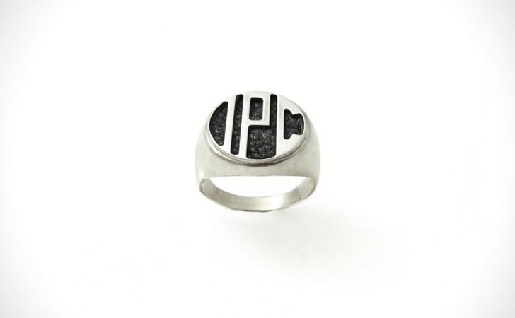 The Minimalist Monogram Ring