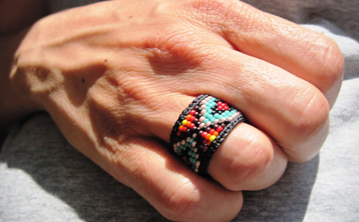 The Native American Beaded Ring