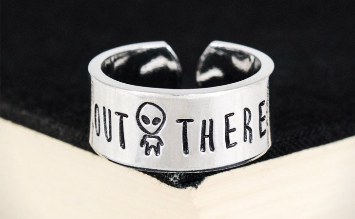 The Out There Alien Ring