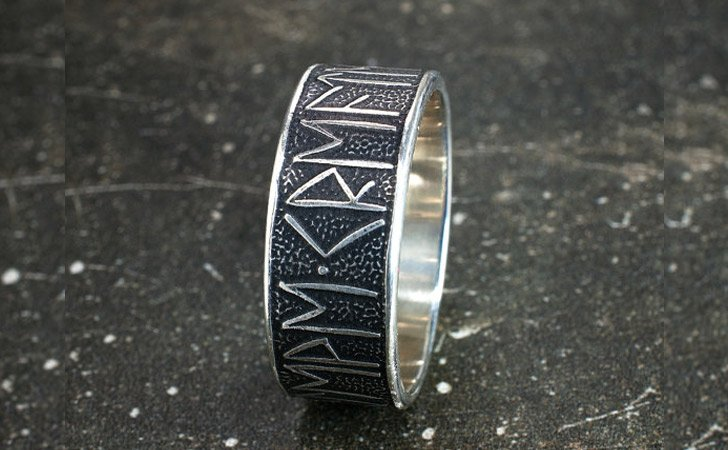 The Personalized Runic Message Ring