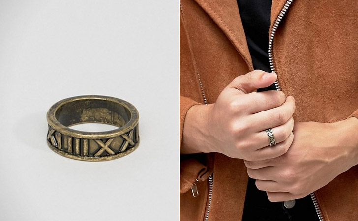 The Roman Numerals Ring