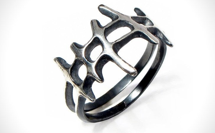The Samurai-Inspired Ring