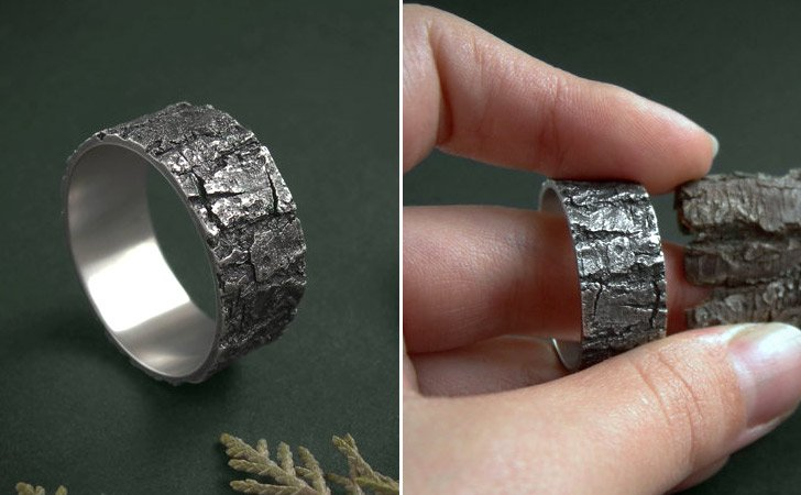 The Silver Bark Ring