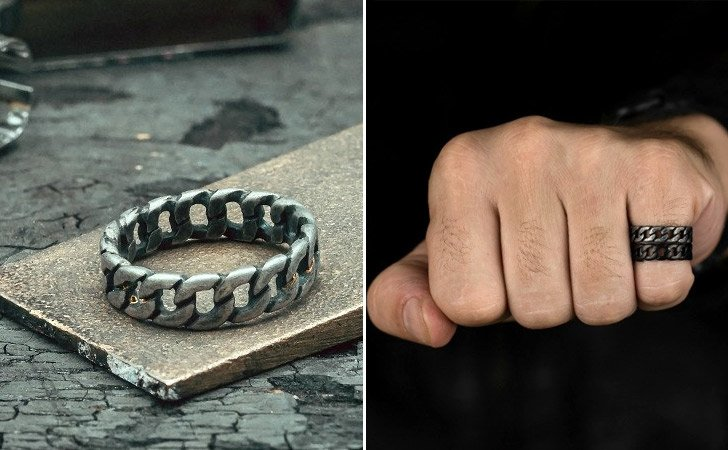 The Stainless Steel Chain Ring