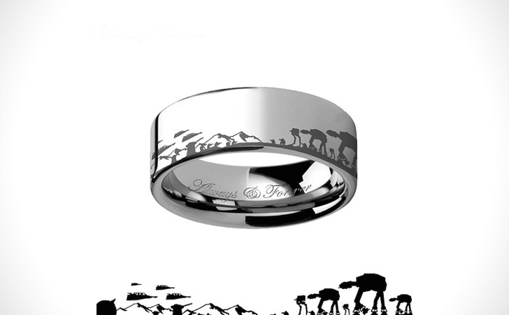 The Star Wars Battle of Hoth Ring