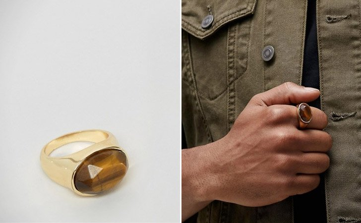 The Tiger's Eye Ring