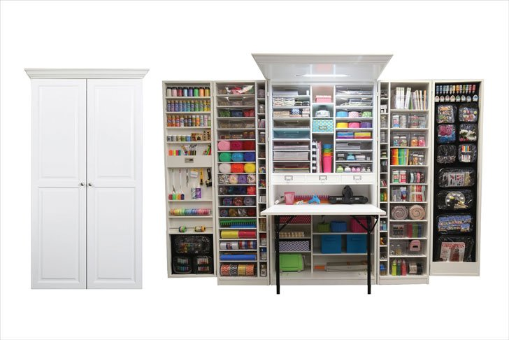 The Ultimate Craft Station Cabinet